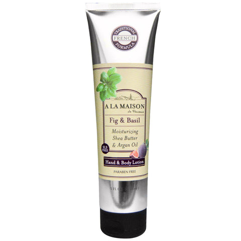 A LA MAISON - Hand and Body Lotion, Fig and Basil