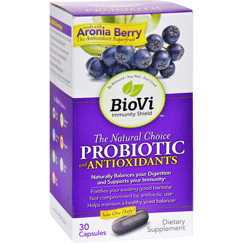 BIOVI - The Natural Choice Probiotic and Antioxidants