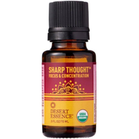 DESERT ESSENCE - Sharp Thoughts Organic Essential Oil