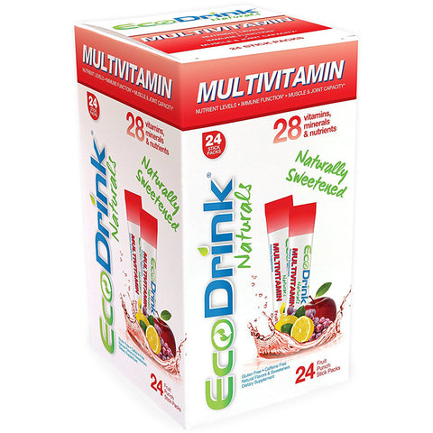 ECO DRINKS - Multivitamin Mix Drink Fruit Punch Reffil Pack