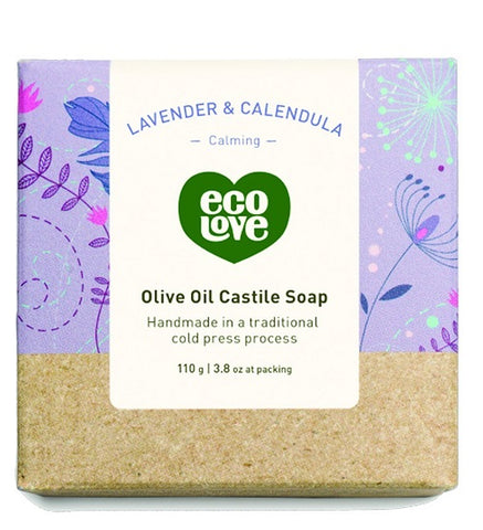 ECOLOVE - Olive Oil Castile Soap Lavender and Calendula