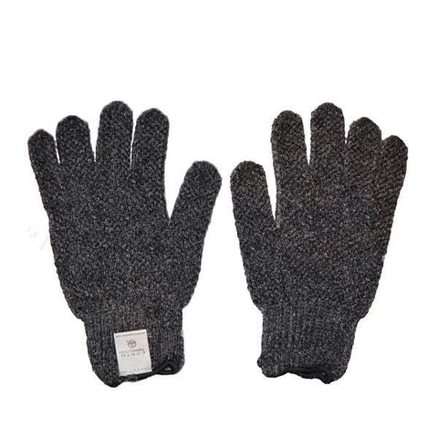 EARTH THERAPEUTICS - Purifying Exfoliating Gloves with Medicinal Bamboo Charcoal