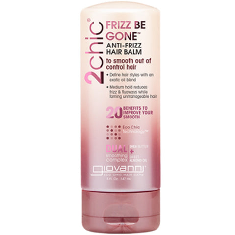 GIOVANNI - 2chic Frizz Be Gone Anti-Frizz Hair Balm Shea Butter & Sweet Almond Oil