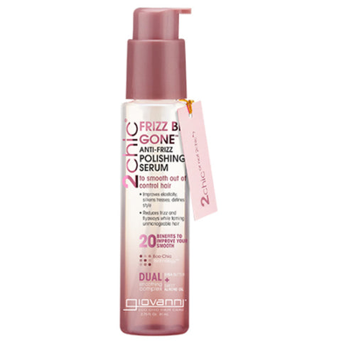 GIOVANNI - 2chic Frizz Be Gone Polishing Serum Shea Butter & Sweet Almond Oil