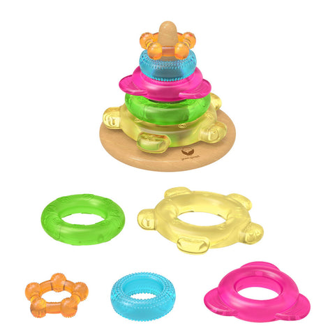 GREEN SPROUTS - Dream Window Stacking Teether Tower