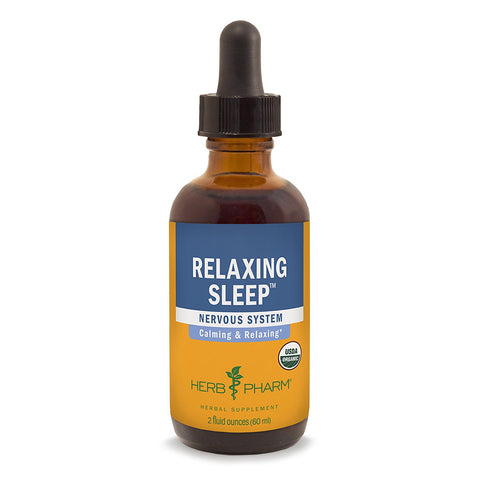 HERB PHARM - Relaxing Sleep Herbal Formula with Valerian Extract