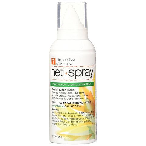 HIMALAYAN - Neti Spray Extra Strength Sterile Saline Spray