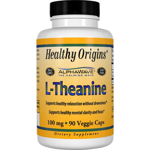 HEALTHY ORIGINS - L-Theanine 100 mg AlphaWave