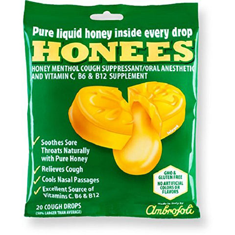 HONEES - Original Honey Menthol