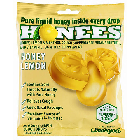 HONEES - Honey Lemon Menthol