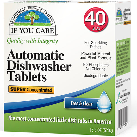 IF YOU CARE - Automatic Dishwasher Tablets