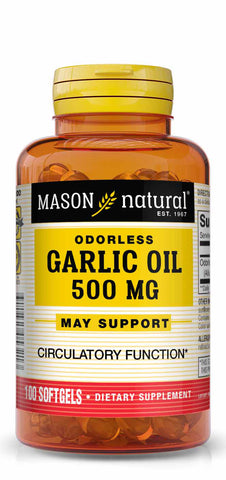 MASON - Garlic Oil 500 Odorless