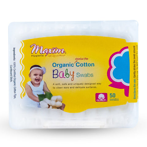 MAXIM - Organic Cotton Baby Swabs