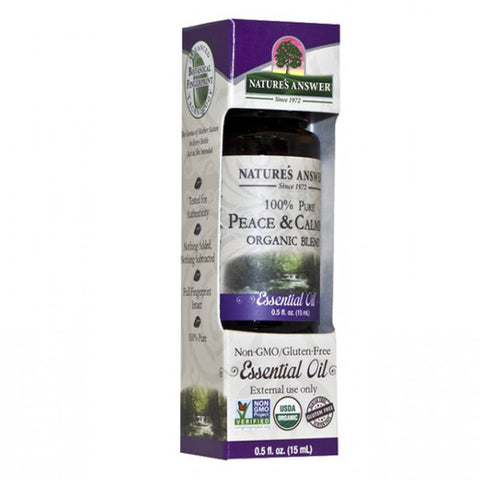 NATURE'S ANSWER - Organic Essential Oil, 100% Pure Peace and Calming