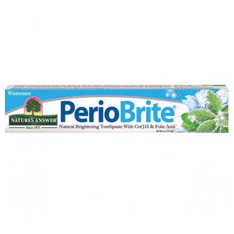 NATURE'S ANSWER - Periobrite Natural Toothpaste Wintermint