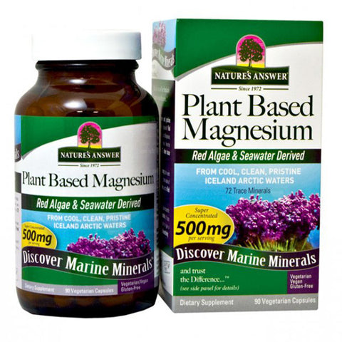 NATURE'S ANSWER - Plant Based Magnesium 500 mg