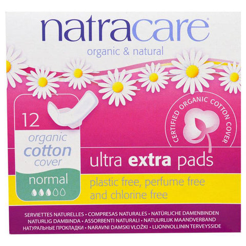 NATRACARE - Organic & Natural Ultra Extra Pads Normal
