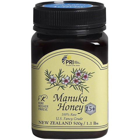 PRI - Manuka Honey Bio Active 15+ 100% Raw