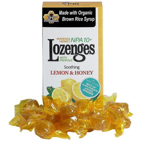 PRI - Propolis Lozenges Lemon and Honey