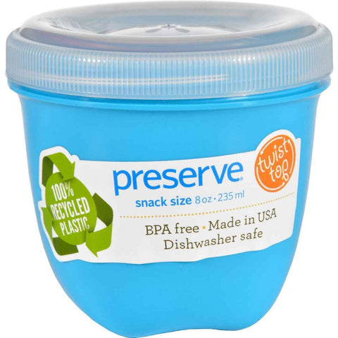 PRESERVE - Aquamarine Mini Round Food Storage Container