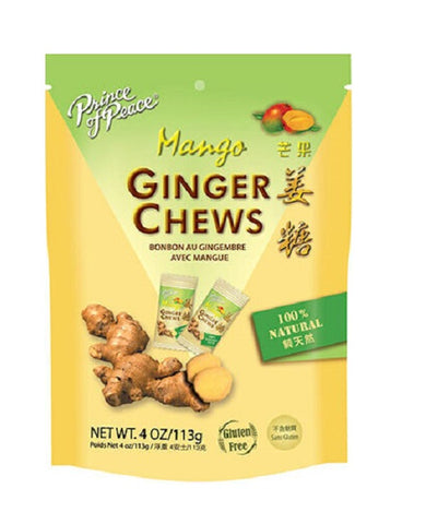 PRINCE OF PEACE - Ginger Chews with Mango