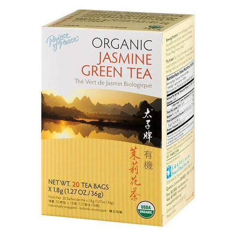 PRINCE OF PEACE - Organic Jasmine Green Tea