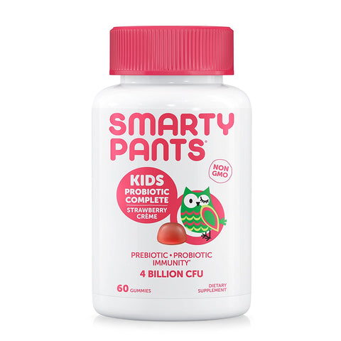 SMARTYPANTS - Kids Probiotic Complete, Strawberry Crème