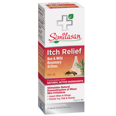 SIMILASAN - Itch Relief, Bee & Wild Rosemary Actives, Roll-On