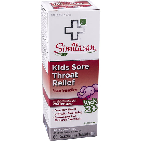 SIMILASAN - Kids Sore Throat Relief, Guaiac Tree Actives