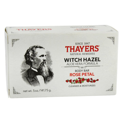 THAYERS - Witch Hazel Body Bar Soap with Aloe Vera Rose Petal