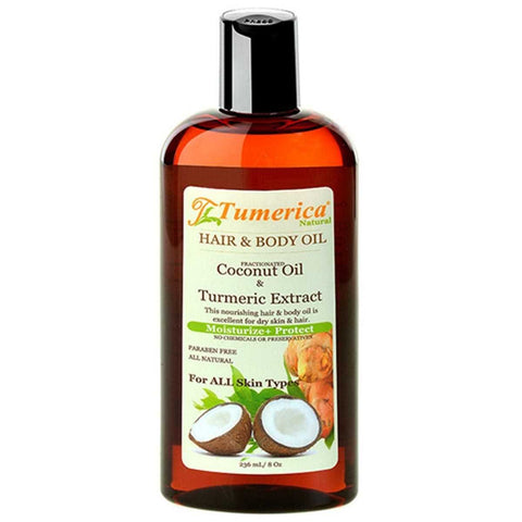 TUMERICA - Hair and Body Oil Coconut & Turmeric