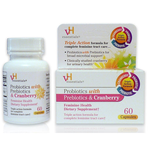 VH ESSENTIALS - Probiotics with Prebiotics and Cranberry Feminine Health