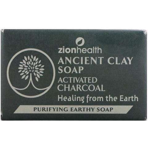 ZION - Ancient Clay Soap Activated Charcoal