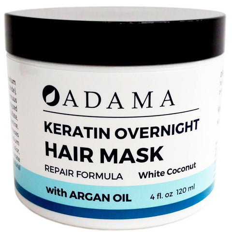 ZION - Adama Keratin Overnight Hair White Coconut