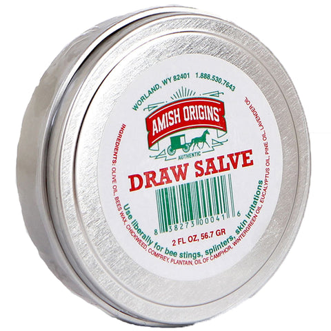 AMISH ORIGINS - All Natural Draw Salve