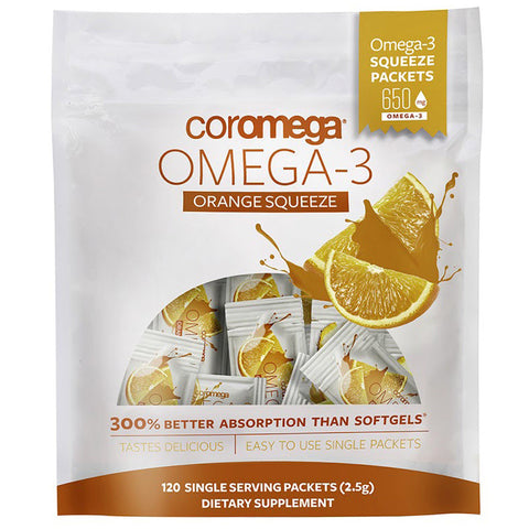 COROMEGA - Omega-3 Orange Squeeze