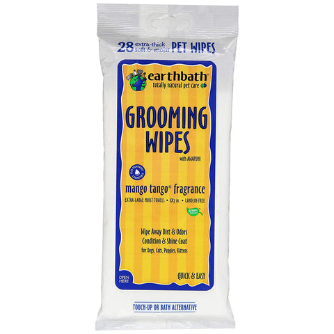 EARTHBATH - Mango Tango Grooming Wipes