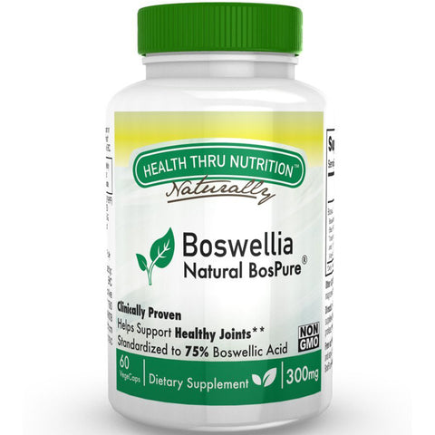 HEALTH THRU NUTRITION - Boswellia Natural BosPure  300 mg