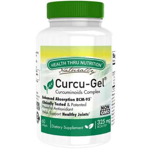 HEALTH THRU NUTRITION - Curcu-Gel 325 mg Curcumin Complex