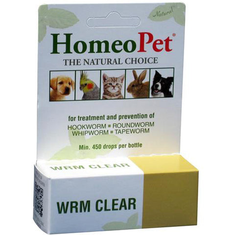 HOMEOPET - Wrm Clear Drops