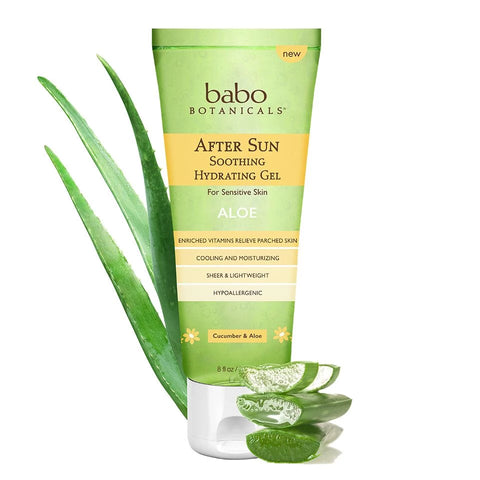 BABO - After Sun Soothing Hydrating Aloe Gel