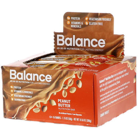 BALANCE BAR COMPANY - Nutrition Bar Peanut Butter