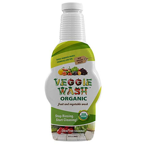VEGGIE WASH - Organic Fruit and Vegetable Wash Soaker