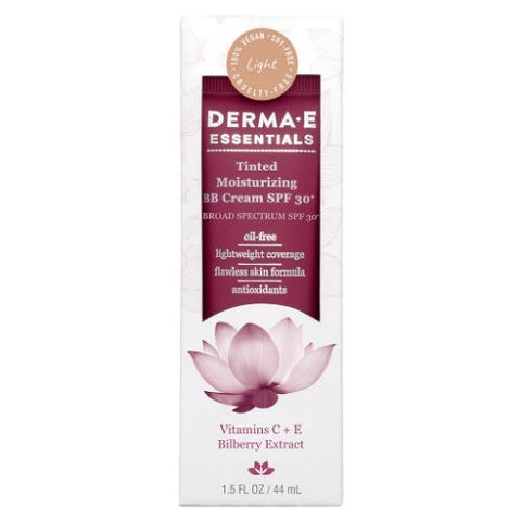 DERMA E - Tinted Moisturizing BB Cream with SPF 30+ Light