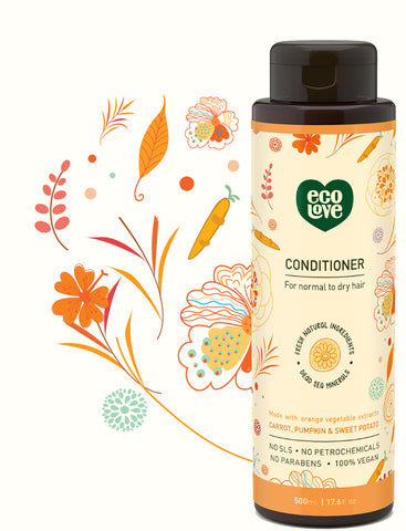 ECOLOVE - Orange Collection Conditioner for Normal to Dry Hair
