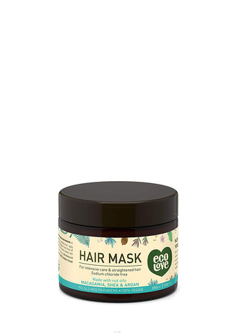 ECOLOVE - Nut Oils Collection Hair Mask for Intensive Care & Straightened Hair