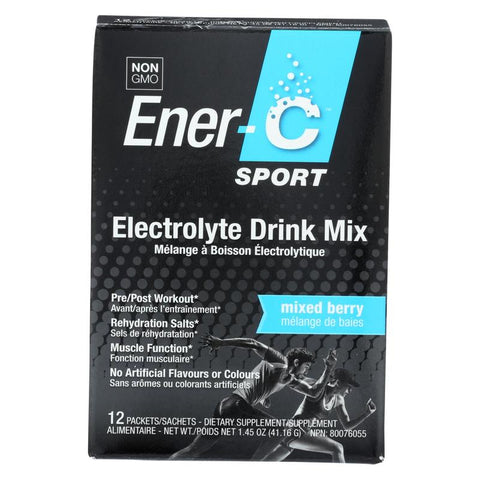 ENER-C - Sport Electrolyte Drink Mix Mixed Berry