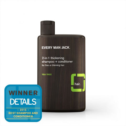 EVERY MAN JACK - 2-In-1 Thickening Shampoo & Conditioner Tea Tree