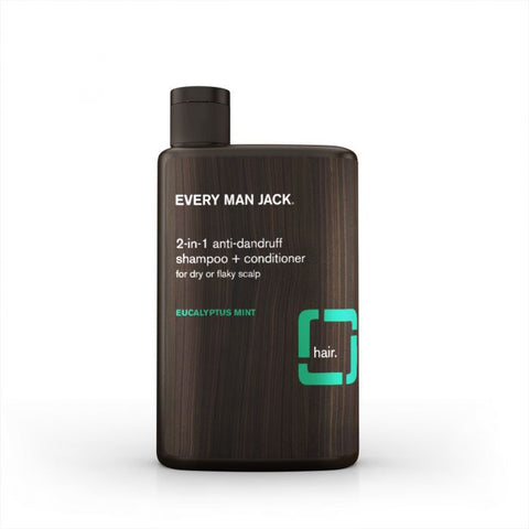 EVERY MAN JACK - 2-in-1 AntiDandruff Shampoo & Conditioner Eucalyptus Mint