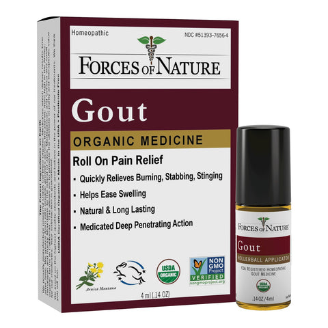 FORCES OF NATURE - Gout Pain Management